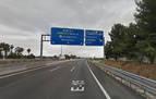 Un conductor en sentido contrario causa dos muertos en la A7 en Valencia