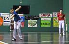 Artola-Imaz consiguen su séptimo punto tras vencer por la mínima a Irribarria-Rezusta