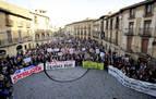 Vecinos de la Zona Media reclaman en Olite un servicio médico digno