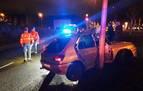 Un conductor choca contra una farola y da positivo en alcohol en Mutilva Baja