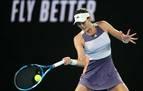 Muguruza tropieza en la final del Open de Australia y cae ante la joven Kenin