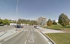 Dos motoristas heridos en sendos accidentes en Pamplona