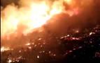 La caída de un cable de repetidor provoca un incendio en Leitza