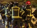 Muere una mujer de 38 años tras caer desde ocho metros con su coche en Madrid