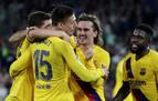 El Barça se aferra a la Liga y aleja al Betis de Europa