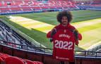 Aridane: &quotEstoy contento, feliz y orgulloso de seguir en Osasuna