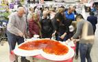 E.Leclerc Pamplona celebra San Valetín con sus clientes