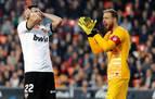Espectáculo, goles y empate en Mestalla