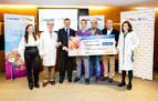 Los clientes de Saltoki donan más de 45.000 euros a Niños contra el Cáncer