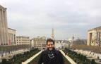 """Salvador Portillo Bustillo, economista en una  Bruselas """"multicultural"""""""