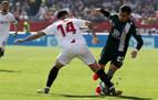 El Sevilla rescata un punto ante un Espanyol en inferioridad