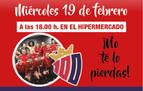 Los jugadores del Osasuna visitan E.Leclerc este miércoles