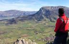 Muere un montañero de Vitoria, de 34 años, en un accidente en el monte Beriáin de Unanu