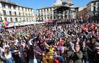 Tudela baila al ritmo que marca su Carnaval