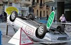Viernes en el Ensanche: día y barrio más peligroso para conducir