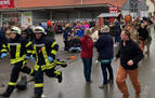 Al menos 30 heridos por un atropello masivo