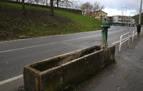 Herido leve un motorista en Pamplona