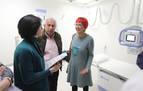 El Gobierno foral valora positivamente el servicio de Radiología en Santesteban