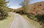 Un ciclista sufre una fractura al caer en Baztan
