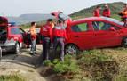 Detenido un conductor positivo en drogas tras darse a la fuga de la Policía Foral
