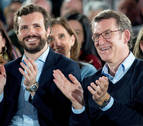 Feijóo rechazó ser ministro de Rajoy y vicepresidente del PP de Casado