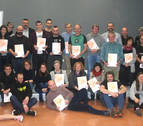 38 empresas y comercios de Barañáin reciben el certificado Bai Euskarari 2019