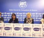 UGT critica que la desigualdad deje a la mujer navarra con 1.242 millones menos al año