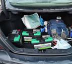 Detenidos dos jóvenes por robar baterías de coche en La Morea
