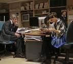 Así se rodó 'Crónica de una tormenta' en Diario de Navarra