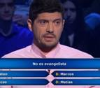 Manu Zapata homenajea a 'Los Lobos' en  '¿Quién quiere ser millonario?'