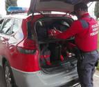 Agentes de Policía Foral auxilian a un varón con parada cardiaca en Fontellas