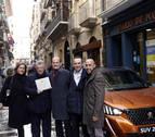 Así ha transcurrido la entrega del premio del Coche del Año de Diario de Navarra a Peugeot