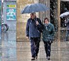 Alerta por riesgo de nevadas en Pirineos y zona centro de Navarra