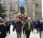 Villatuerta sale a la calle por el milenario de San Veremundo