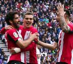 Un Athletic efectivo frustra el trabajo del Real Valladolid