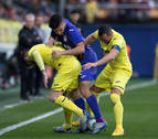 El Leganés asoma la cabeza gracias a un doblete de Óscar Rodríguez ante el Villarreal