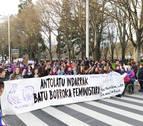 "8.000 personas salen en Pamplona a la calle en defensa de un feminismo ""diverso e inclusivo"""