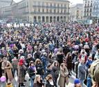 El colectivo feminista llama en Pamplona a
