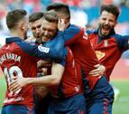 Osasuna aleja a los fantasmas con un triunfo por la mínima contra el Espanyol