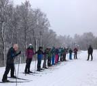 El esquí escolar vuelve a Abodi