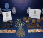 Dos detenidos al intentar introducir en Navarra cinco kilos de hachís