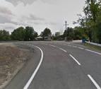 Dos ciclistas atendidos por caídas en Zubiri y Ayegui