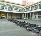 Comienzan las catas arqueológicas en el patio del colegio de Salesianos
