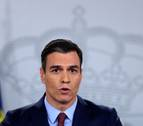 Sánchez promete ayudas a las familias y las empresas