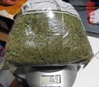 Detenido en Pamplona por traficar con marihuana en San Juan