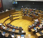 El Parlamento de Navarra suspende de momento su actividad