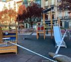 La Policía Municipal clausura los parques infantiles de Pamplona