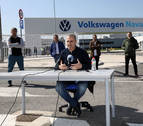 El comité y la dirección de Volkswagen Navarra se van a reunir esta noche