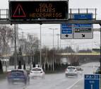 El tráfico en carreteras navarras cae hasta en un 74% y por tren en torno al 80%