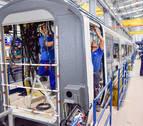 CAF se compromete a dar carga de trabajo a la planta de Trenasa en Castejón